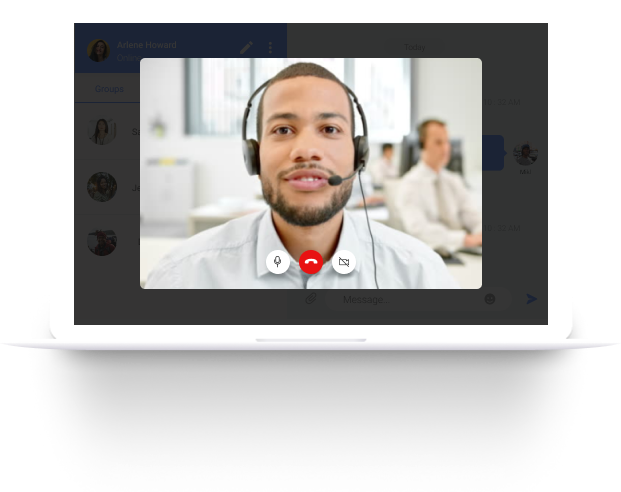 ImbaChat Voice & Video Calling & Conference